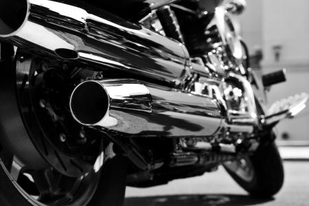 exhaust: motorcycle