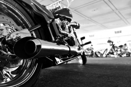 Moto Banque d'images - 15433094