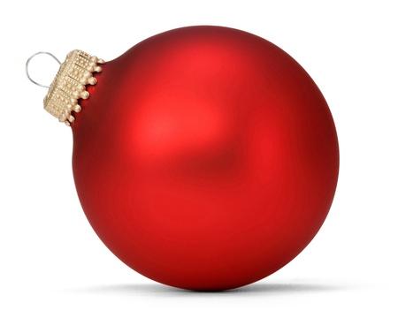 red christmas ball Stock Photo - 16047823