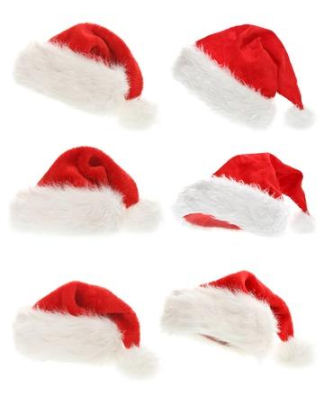 set van Santa Claus hoeden