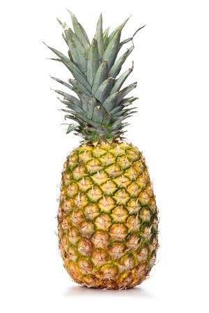 pieapple over white background