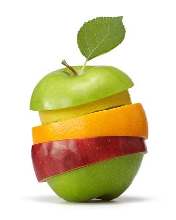 mix fruit: fruits Stock Photo