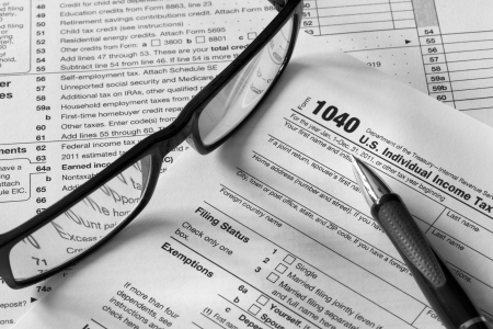 taxable income: tax documents