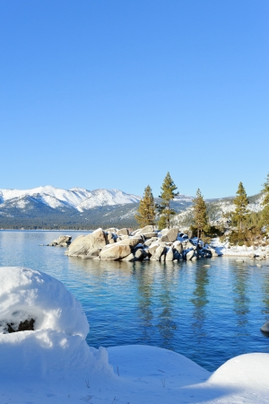 tahoe: Lake Tahoe Stock Photo