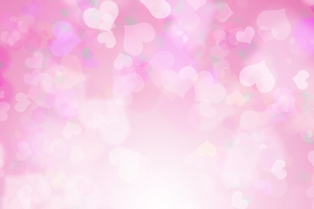 white background: Valentine s day background Stock Photo