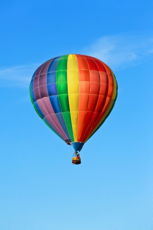 air: hot air balloon