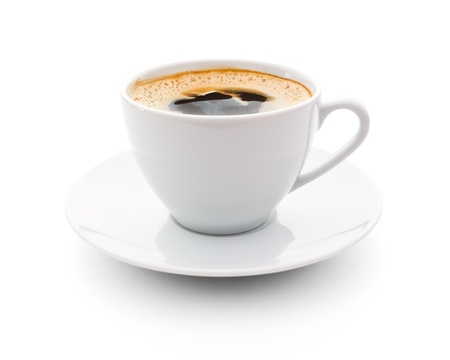 cup: cup of coffee Stock Photo