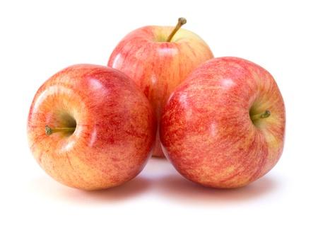 pomme rouge: pommes de gala Banque d'images