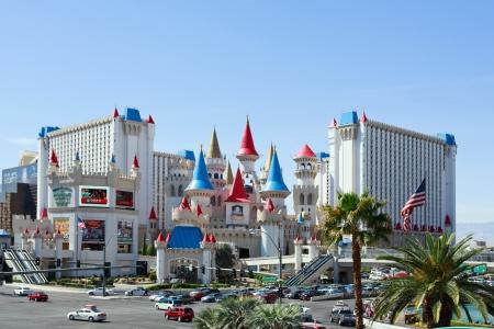 Excalibur hotel and casino, Las Vegas Stock Photo - 18951380