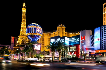 hotel casino: Paris hotel and casino, Las Vegas