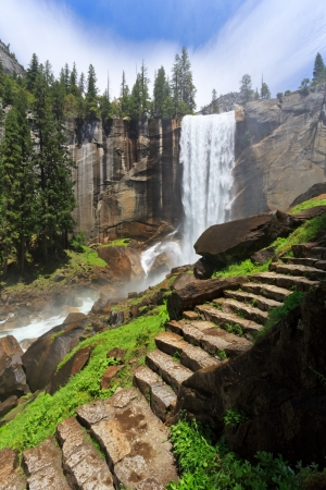 Vernal Fall, Yosemite National Park photo