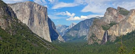 bridalveil fall: Yosemite National Park Stock Photo