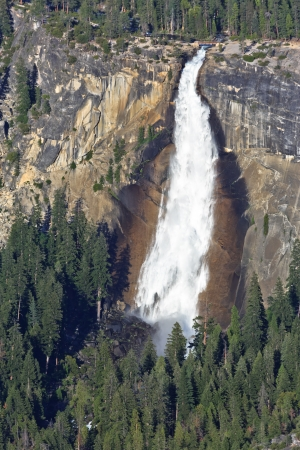 Nevada Fall, Yosemite National Park photo