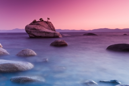 Bonsai Rock, Lake tahoe photo