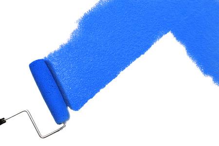 Blaue Farbe Standard-Bild - 23319693