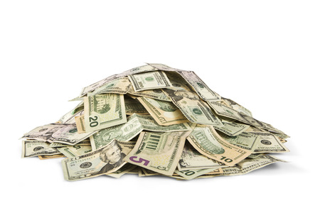 현금의 더미