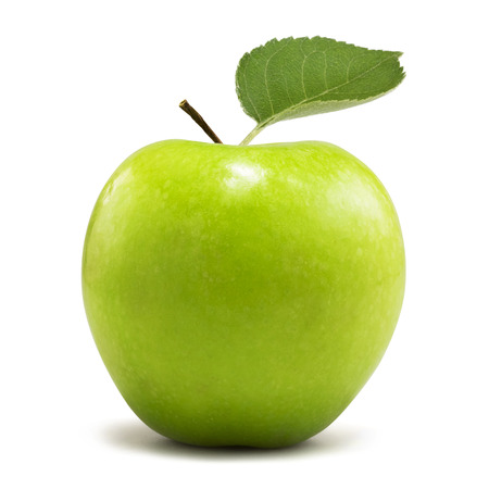 green apple: green apple Stock Photo