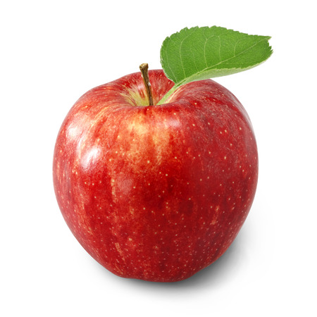 manzana roja: manzana Foto de archivo