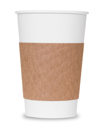 clipping: Coffee cup with clipping path