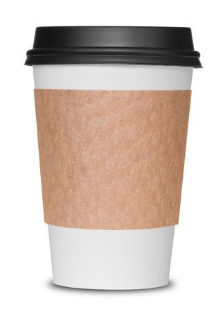 고립 된 커피 컵