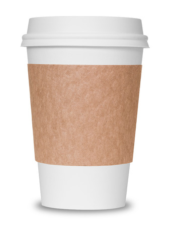 Coffee cup isolated photo