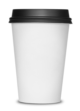 to go cup: Coffee cup isolated