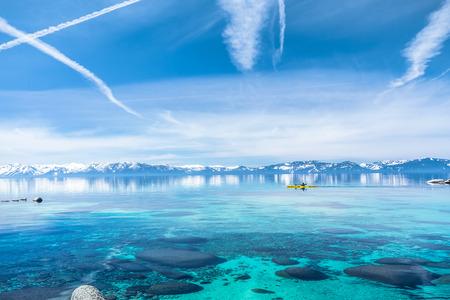 lake tahoe: Kayaking