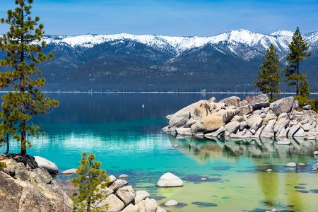タホ湖 写真素材