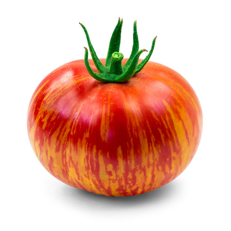heirloom: Dragons eye tomato Stock Photo