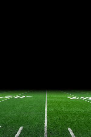Football field with copy space Imagens