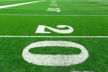 terrain foot: Football field