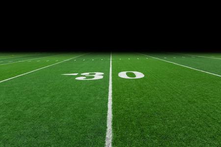 campo di calcio: Campo di calcio con lo spazio della copia Archivio Fotografico