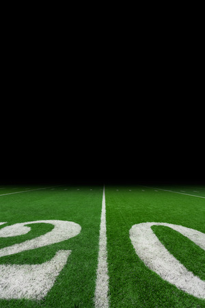 campo calcio: Football field with copy space Archivio Fotografico