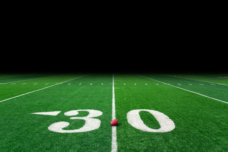 grass field: Football field with copy space Stock Photo