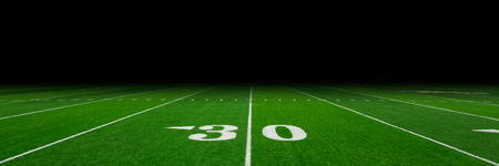 football field: Football field with copy space Stock Photo