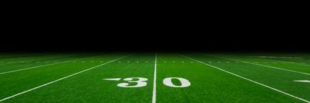 terrain foot: Terrain de football avec copie espace Banque d'images