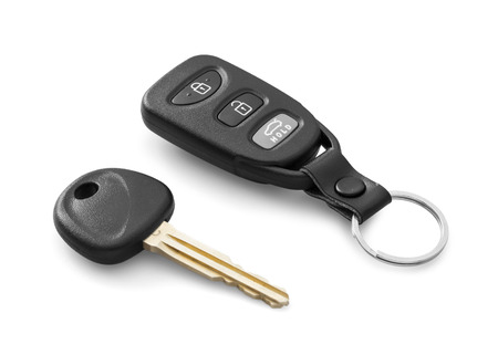 Car remote with key photo