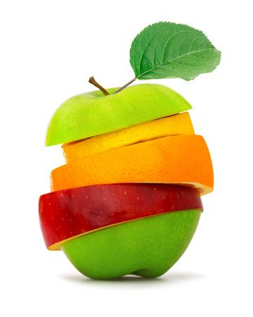 Fruit slices photo