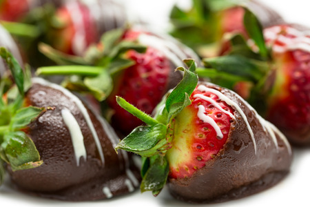 dipped: Chocolate dipped strawberries