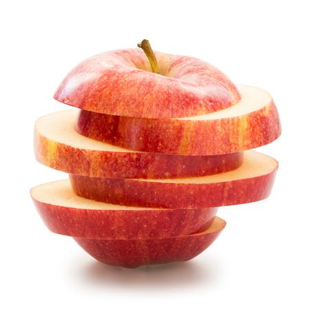 Geschnitten Apple
