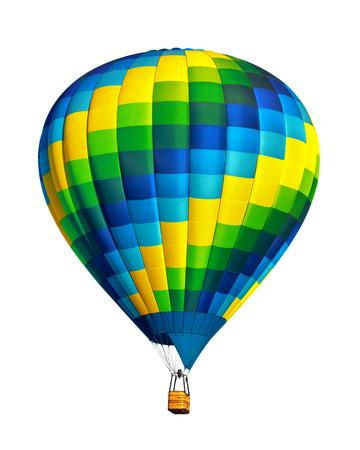 air: Hot air balloon isolated Stock Photo
