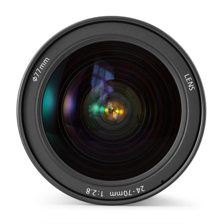 Lente de la cámara de fotos