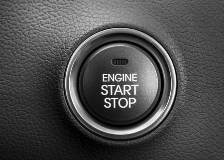 Engine start button 免版税图像 - 39786569