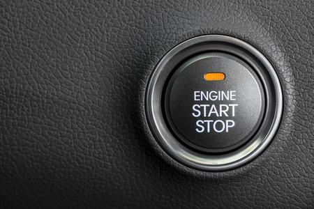 Engine start button 스톡 콘텐츠