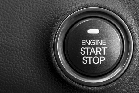Engine start button 免版税图像 - 39786567