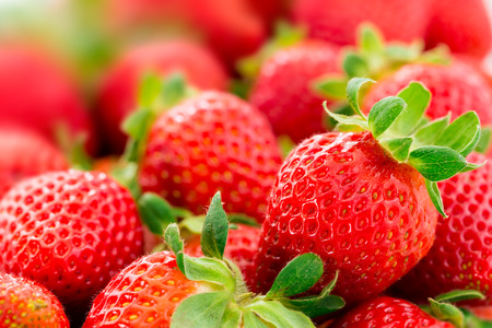 frutillas: Fresas Foto de archivo
