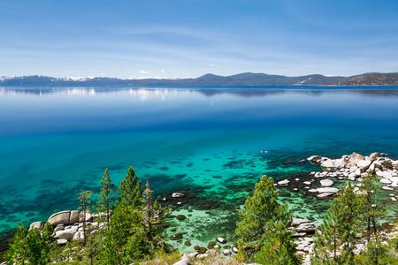 lake tahoe: Lake Tahoe east shore
