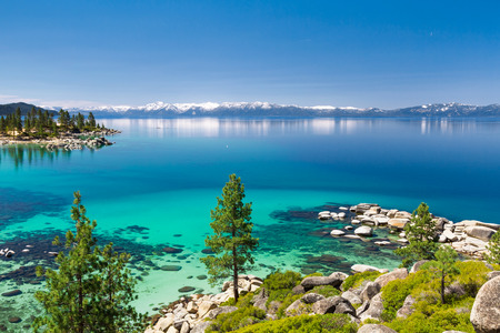tahoe: Lake Tahoe panorama