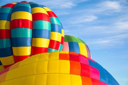 hot air balloons: Hot air balloons. Stock Photo