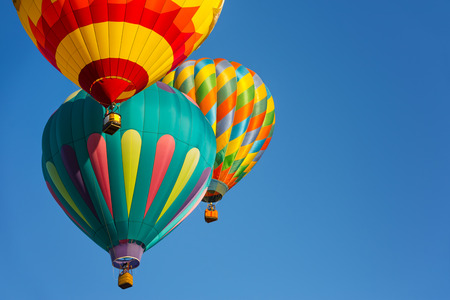 air: Hot air balloons